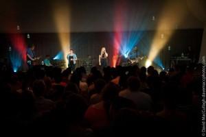 Garage Hymnal Album Launch 2012 - Main Auditorium. Photograph by David MacCullagh, www.davemaccphotos.com